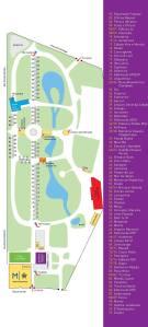 Mapa Primavera dos Livros 2014