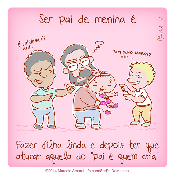 Ser Pai de Menina #26