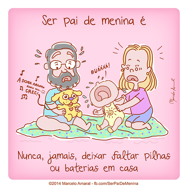 Ser Pai de Menina #33
