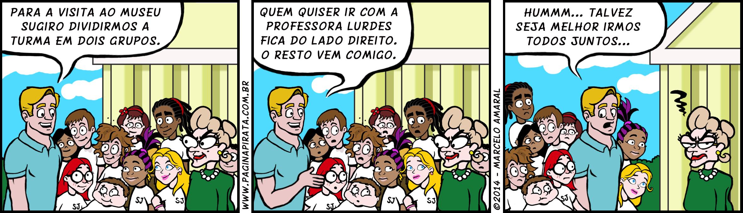 #54 Professora Lurdes: fenômeno de popularidade. Só que não.